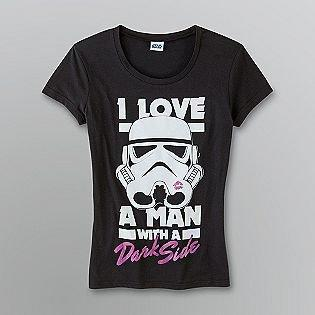 Juniors' Star Wars T-Shirt- Mighty Fine-Clothing-Juniors-Graphic Tees