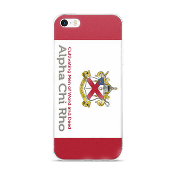 Alpha Chi Rho var1 iPhone case