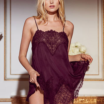 Satin & Lace Babydoll - Beautiful by Victoria's Secret - Victoria's Secret