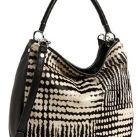 MARC BY MARC JACOBS 'Too Hot to Handle' Blurred Dot Calf Hair Hobo, Large | Nordstrom