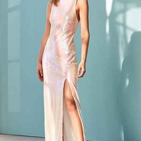 Glamorous Iridescent Sequin Maxi Dress - Urban Outfitters