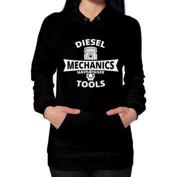 Diesel mechanics Hoodie (on woman)