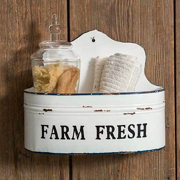 Farm Fresh Wall Caddy Set of Two