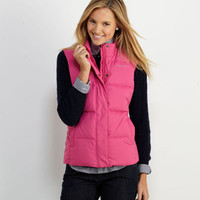 Womens Vests and Outerwear: Old Port Puffer Vest for Winter