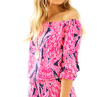 Lana Off The Shoulder Romper | 23971 | Lilly Pulitzer