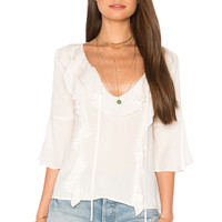 BB Dakota Abbey Top in Dirty White | REVOLVE