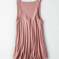AE Soft & Sexy Henley Tank Top, Mauve
