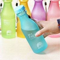 550ML Unbreakable Outdoor Sports Travel Water Bottle Portable Leak-proof Cycling Camping Water Cup [8070933063]