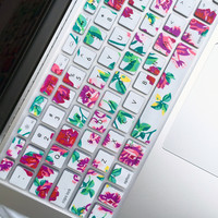 Macbook Keyboard Cover - Floral