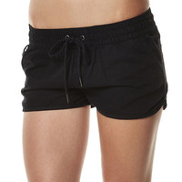 ALL ABOUT EVE SUMMER ESSENTIAL 2 SHORT - BLACK