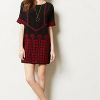 Flamme Tunic Dress by Tiny Black Motif