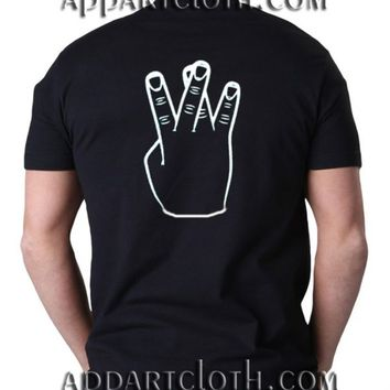 Westside crossed fingers Funny Shirts, Funny America Shirts