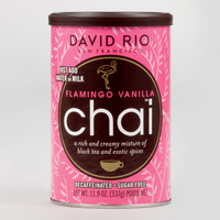 David Rio Flamingo Vanilla Decaf Chai Mix, Set of 6 - World Market