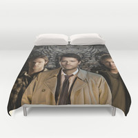 Supernatural Duvet Cover by SRB Productions
