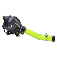 Gas Mask Pipe - Acrylic Layback Tube - Various Colors