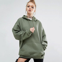 Hoodies Sports Batwing Sleeve With Pocket Hats Fall Sweater [9068275908]