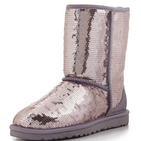 Sparkles Sequin Short Boot, Heathered Lilac - UGG Australia - Heathered lilac