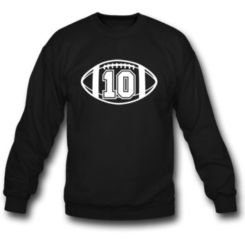 football 10 sweatshirt