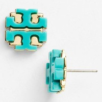 Tory Burch Large Logo Stud Earrings | Nordstrom