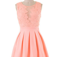 All Good Things Dress - Light Coral