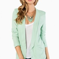 EVA BLAZER IN MINT