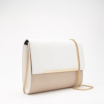 Pebbled Faux Leather Crossbody