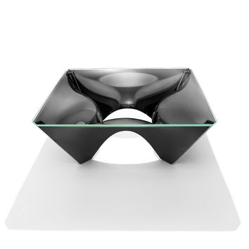 Washington Corona™ Aluminum Coffee Table by David Adjaye | Knoll