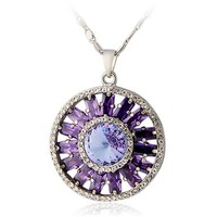 Free shipping Round Pendant Necklace