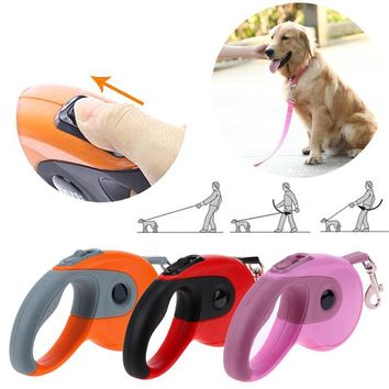 Traction Rope Belt Retractable Dog Leash