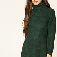 Marled Longline Tunic Sweater