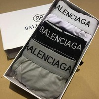 Balenciaga:Men's boxer underwear pants male gift box