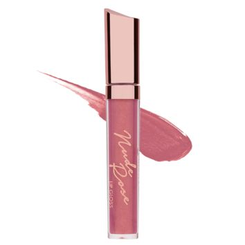 Nude Rose Lip Gloss - High Shine Gloss: Marilyn