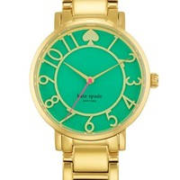 Women's kate spade new york 'gramercy' round bracelet watch, 34mm