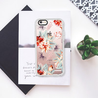 TROPICALIA - CRYSTAL CLEAR PHONE CASE iPhone 6s case by Nika Martinez | Casetify