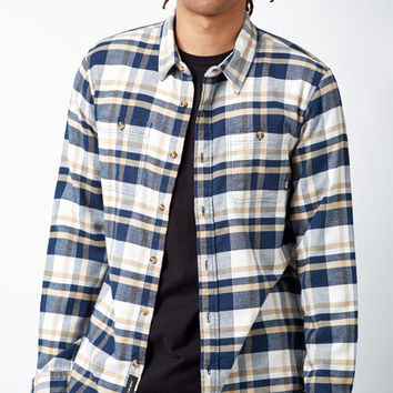 Vans Banfield II Plaid Flannel Long Sleeve Button Up Shirt at PacSun.com