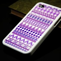 Geometric Purple IPhone 4 And IPhon.. on Luulla