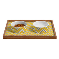 Caroline Okun Solstice Pet Bowl and Tray