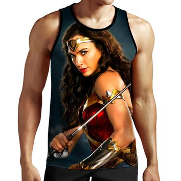 Wonder Woman Sword Tank Top