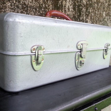 Steel Tool Chest Tackle Box Liberty Chest Corp. Rochester NY
