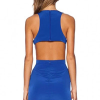 Buzz electric Cutout Pencil Dress