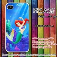 Little Mermaid in the deep sea Handmade case For Iphone 44s 5 by pfcases12 on Zibbet