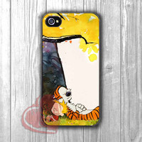 Calvin and Hobbes nap time -edh for iPhone 4/4S/5/5S/5C/6/ 6+,samsung S3/S4/S5,samsung note 3/4
