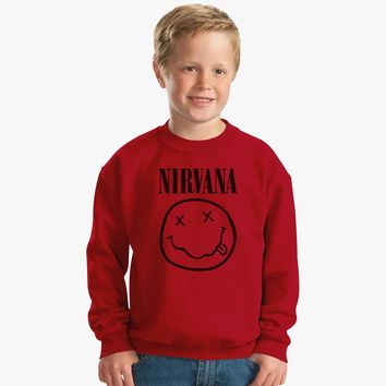 Nirvana Smile Kids Sweatshirt