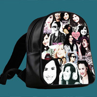 Demi Lovato collage for Backpack / Custom Bag / School Bag / Children Bag / Custom School Bag ***
