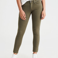 AEO Denim X Jegging, Leaf Green