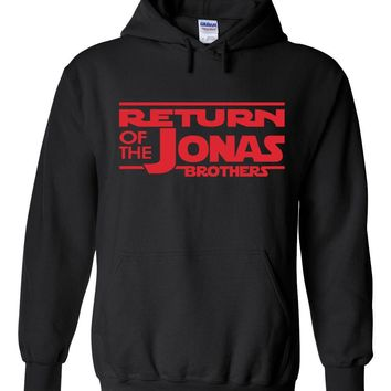 Return of the Jonas Brothers Hoodie Sweatshirt (Sizes 3XL - 5XL)