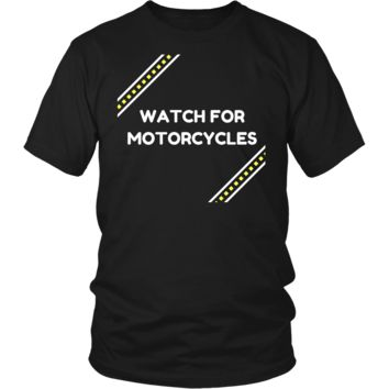 *Watch for Motorcycles!