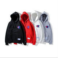 Champion New couple of men and women thick plus cashmere jacket