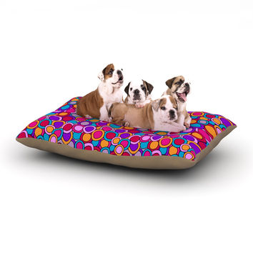 "Julia Grifol ""My Colourful Circles"" Dog Bed"