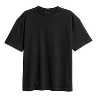Mercerized Cotton T-shirt - from H&M